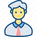man, manager, personal, personal manager icon