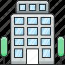 apartment, building, headquarter, office icon