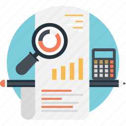 budget, business, finance, graph, report icon