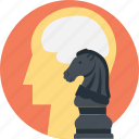 bishop, chess, plan, scheme, strategy icon