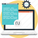 coding, cog, cogwheel, programming, script