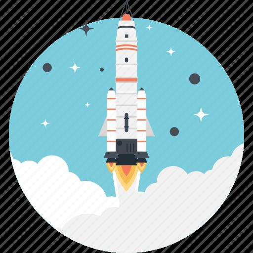 Launch, missile, rocket, spacecraft, startup icon - Download on Iconfinder