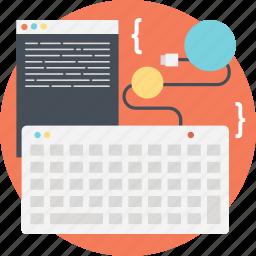 coding, developing, development, html, programming icon