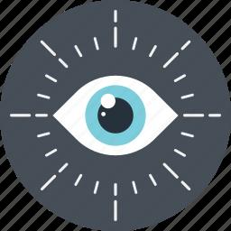 aim, eye, look, view, vision icon