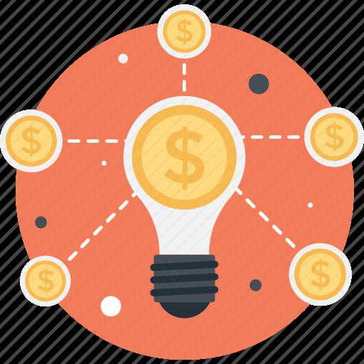 bulb, crowdfunding, idea, innovation, invention icon