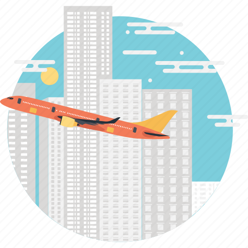 airplane, business, journey, tour, travel icon
