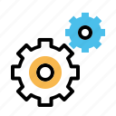 gear, optimization, options, preferences, settings icon