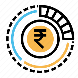 business, currency, finance, indian, money, rupee icon