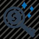 business, key, seo, success icon