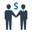 agreement, business, deal icon