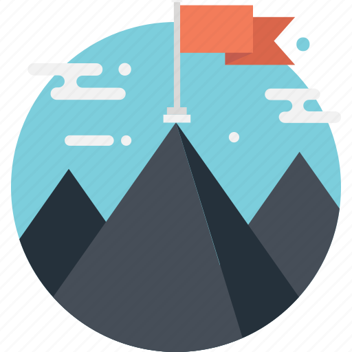 Mission, mountain, success, triumph, victory icon - Download on Iconfinder