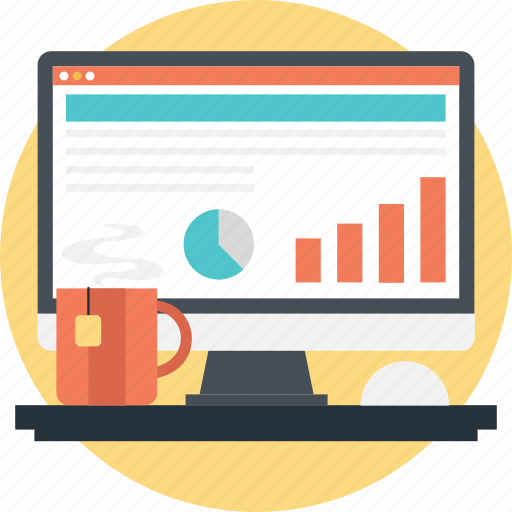 Bar, graph, pie, report, statistics icon - Download on Iconfinder