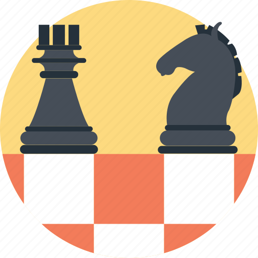 Bishop, chess, game, knight, strategic planning icon - Download on Iconfinder