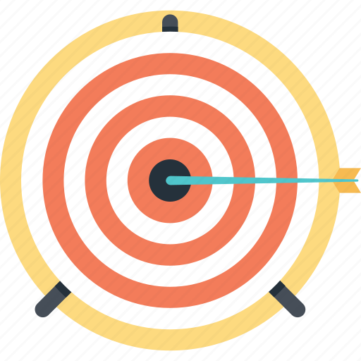 Aim, bullseye, mission, shooting, target icon - Download on Iconfinder