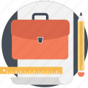bag, briefcase, case, documents, portfolio icon