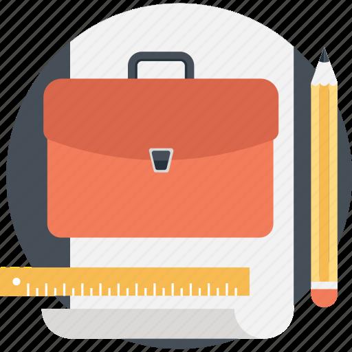 Bag, briefcase, case, documents, portfolio icon - Download on Iconfinder