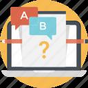 ab, ab testing, testing, transfer, ui icon