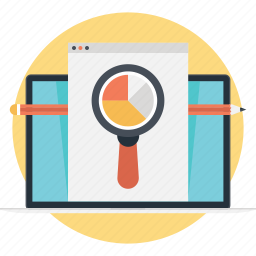 business, data analysis, graph, report, statistics icon