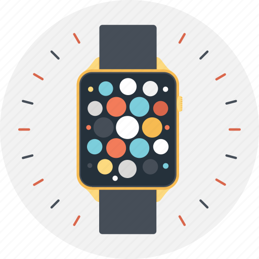 smartwatch, time, timepiece, watch, wristwatch icon