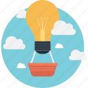 bulb, develop, idea, inspiration, invention icon