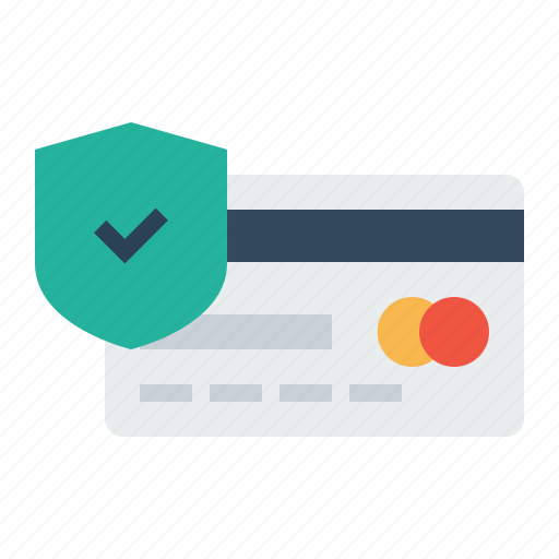 card, credit, debit, electronic, payment, secure icon