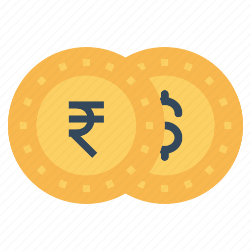 coin, currency, dollar, finance, indian, money, rupee icon