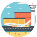 airplane, airport, flight, ready to travel, tour icon
