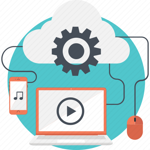 Cloud, cloud computing, mouse, multimedia, network icon - Download on Iconfinder