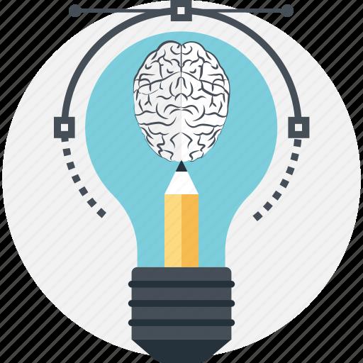 beizer, bright, dollar, innovation, pencil icon