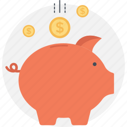 funding, mini bank, money, piggy, saving icon