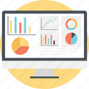analytics, bar, graph, pie, statistics icon