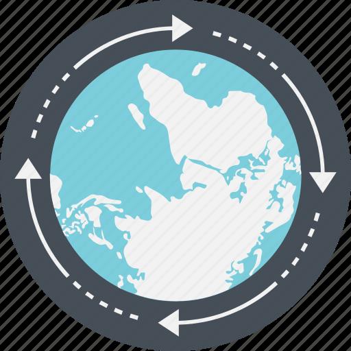 business, global, global progress, globe, worldwide icon