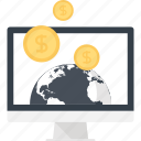 business, commerce, digital, ecommerce, electronic, money, online icon