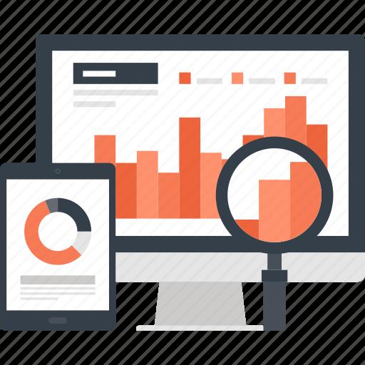 Analysis, analytics, chart, computer, graph, monitoring, statistics icon - Download on Iconfinder