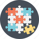 game, jigsaw, puzzle, solution, strategy