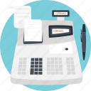 accounting, cash register, cash till, point sale, pos icon