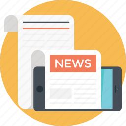 article, documents, news, newspaper, paper icon