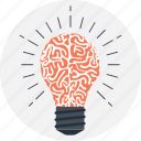 brain, idea, innovation, intelligent, smart solution icon