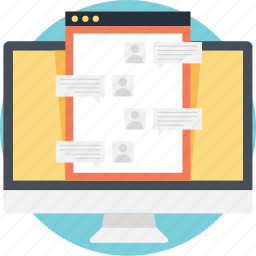 chat, chat bubble, communication, live support, web chat icon