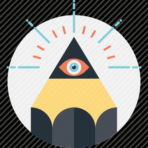 creativity, idea, imagine, pencil, productivity icon