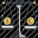 convert, dollar, euro, mony, scale, unit
