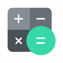 accounts, calc, calculator, math icon