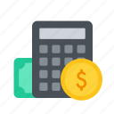account, calculation, calculator, financial, tally, taxes icon