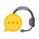 chat, support, text chat, voice, web icon