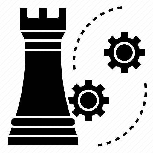 business, chess, mission, plan, strategy icon