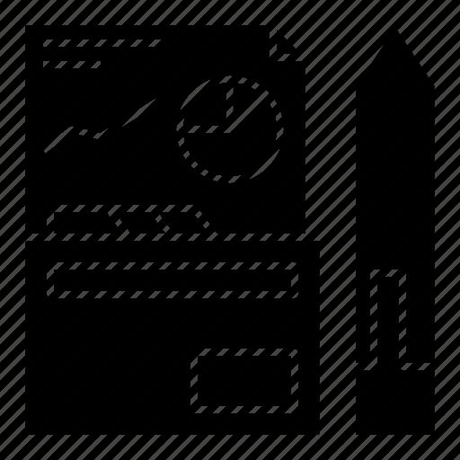 annual, company, meeting, profile, report icon
