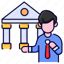 bank, bukeicon, business, coin, finance, safe icon