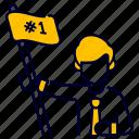 achievement, bukeicon, finance, flag, goal, success, victory icon