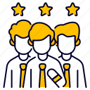 best, bukeicon, business, rate, rating, team icon