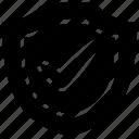 bukeicon, business, finance, insurance, protection, shielding icon